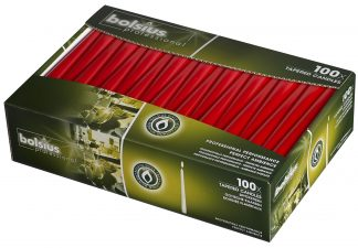 Tapered Candles 240 X 23 Pack 100 Red