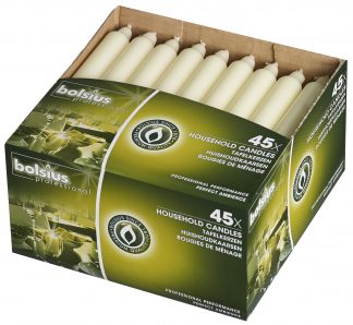 Box of 45 Household Candles