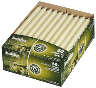 Box of 50 Household Candles