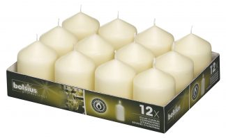 Short Pillar Candles tray of 12