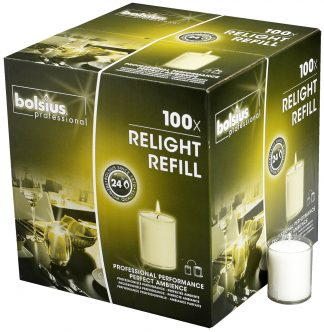 Transparent ReLight Refills Box of 100