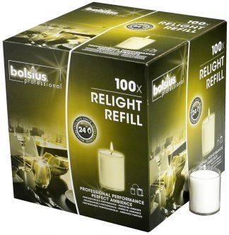 Transparent ReLight Refills Box of 100