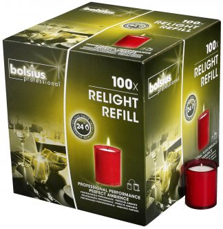 Red ReLight Refills Box of 100
