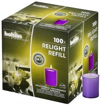 Purple ReLight Refills Box of 100