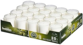Transparent ReLight Refills Tray of 20