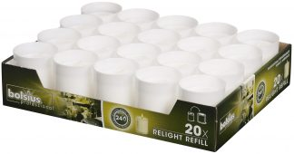 White ReLight Refills Tray of 20