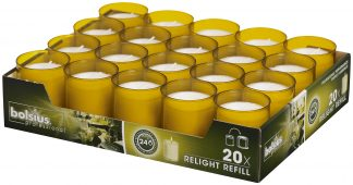 Amber ReLight Refills Tray of 20