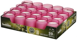 Fuchsia ReLight Refills Tray of 20