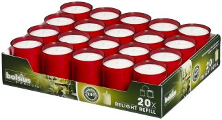 Red ReLight Refills Tray of 20