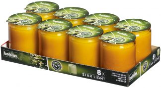 Amber Starlight tray of 8