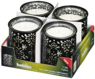 Star light holder pack of 4