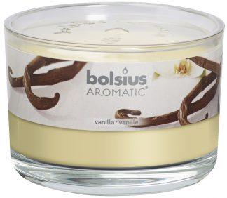 Vanilla Round Scented Candle